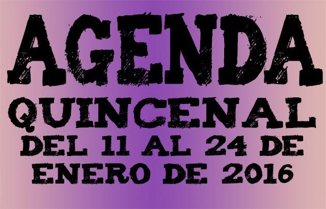 Agenda ocio enero 2016 pucelaproject