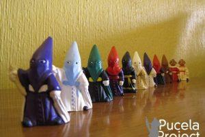 Figuritas capuchones Semana Santa Pucelaproject