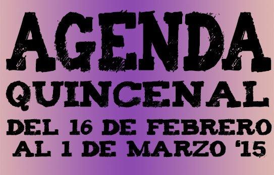 agenda ocio valladolid febrero 2015