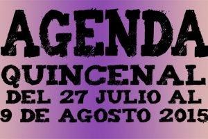 agenda ocio valladolid julio agosto 2015