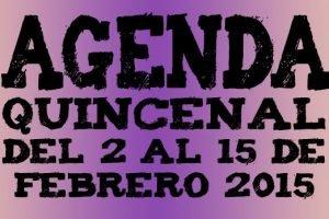 agenda ocio valladolid primera quincena febrero 2015