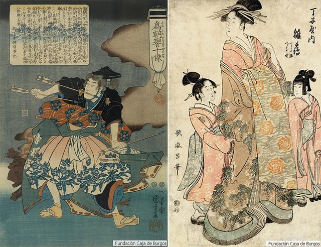Exposición de arte antiguo japonés en el Museo de la Pasión