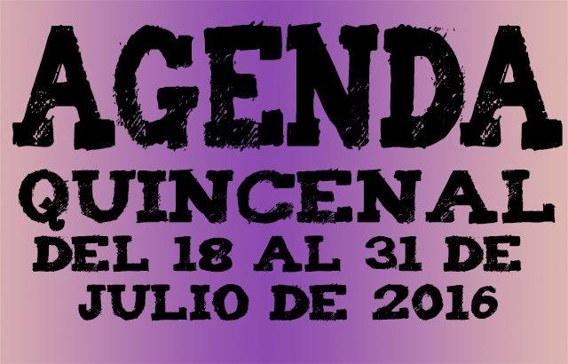 Agenda ocio Valladolid julio 206