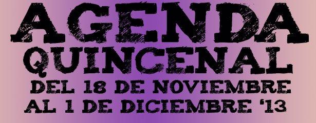 agenda ocio noviembre diciembre 2013 pucelaproject