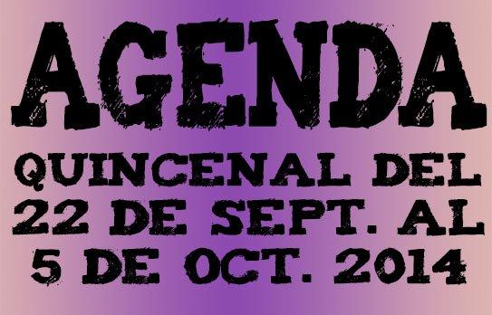 agenda ocio valladolid 22 septiembre 2014