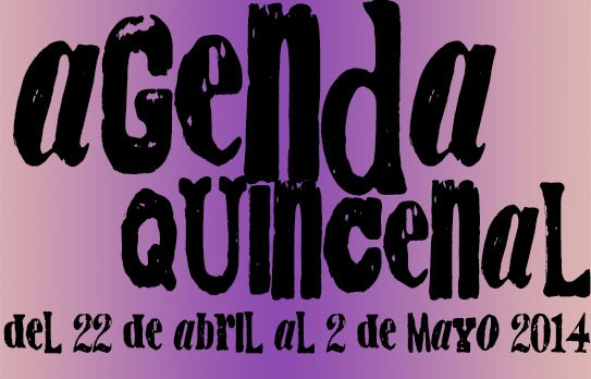 agenda ocio valladolid abril mayo 2014