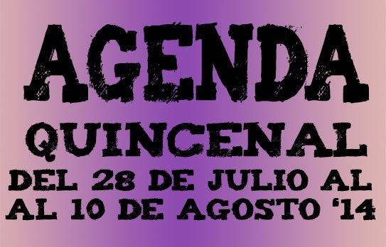 agenda ocio valladolid del 28 julio al 10 agosto 2014