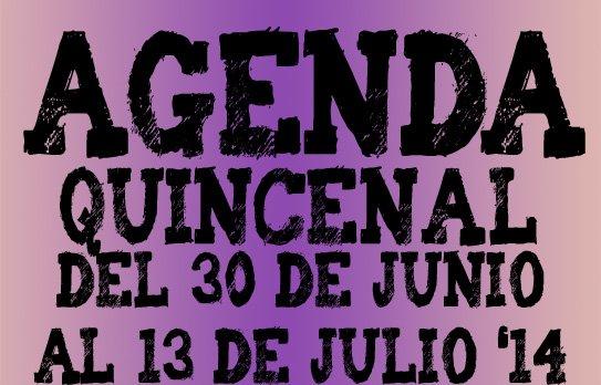 agenda valladolid primera quincena julio 2014