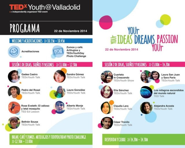 tedxyouth valladolid 2014 pucelaproject